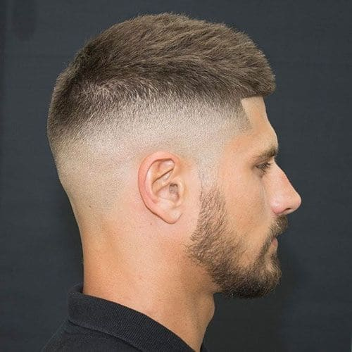 Mens high fade haircut