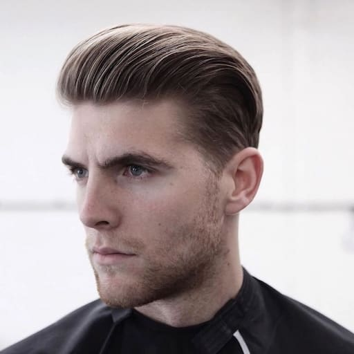 Slicked Back Hairstyles