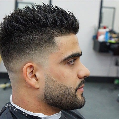 21 Best Spiky Hairstyles For Men - Men\'s Haircut Styles