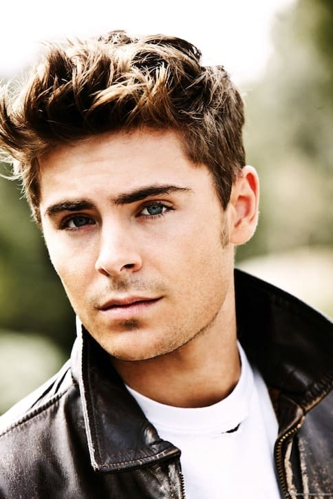 Zac Efron Hairstyles 5 - Men's Haircut Styles