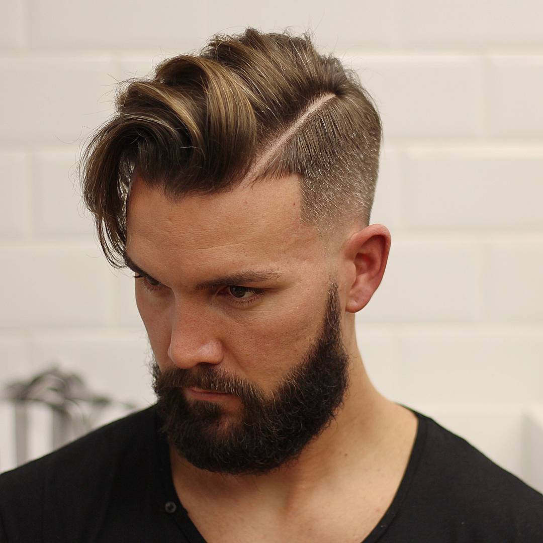 Medium Length Mens Hairstyles 2