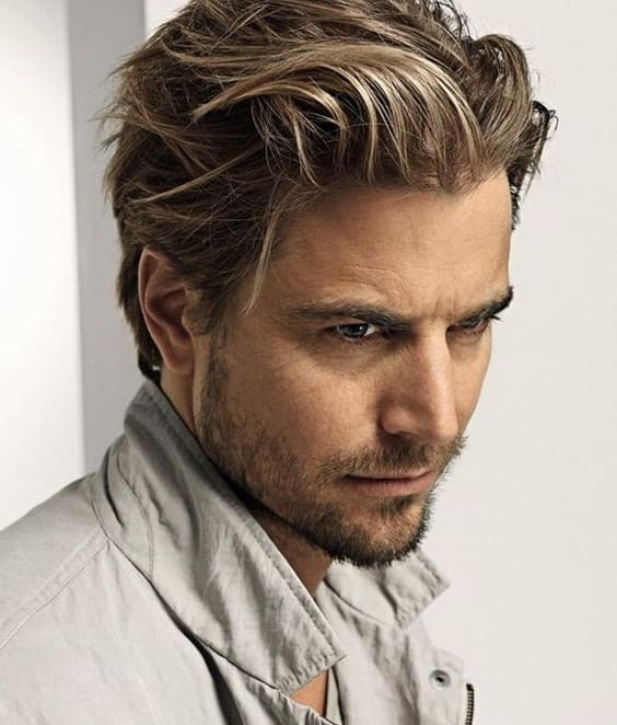 Medium Length Mens Hairstyles