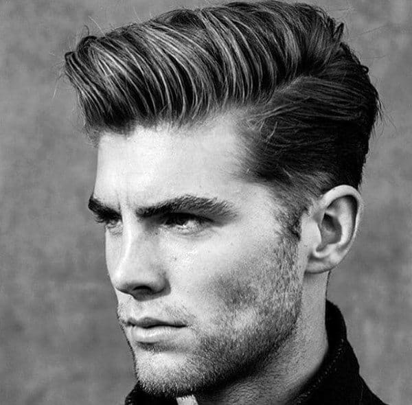 medium length mens hairstyles · «