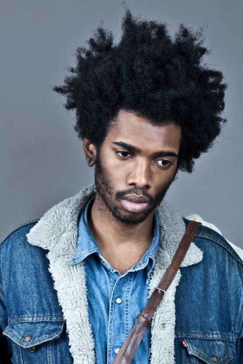2018 curly hairstyles for black men