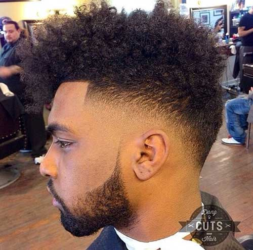 2018 Curly Hairstyles For Black Men 4 Men S Haircut Styles