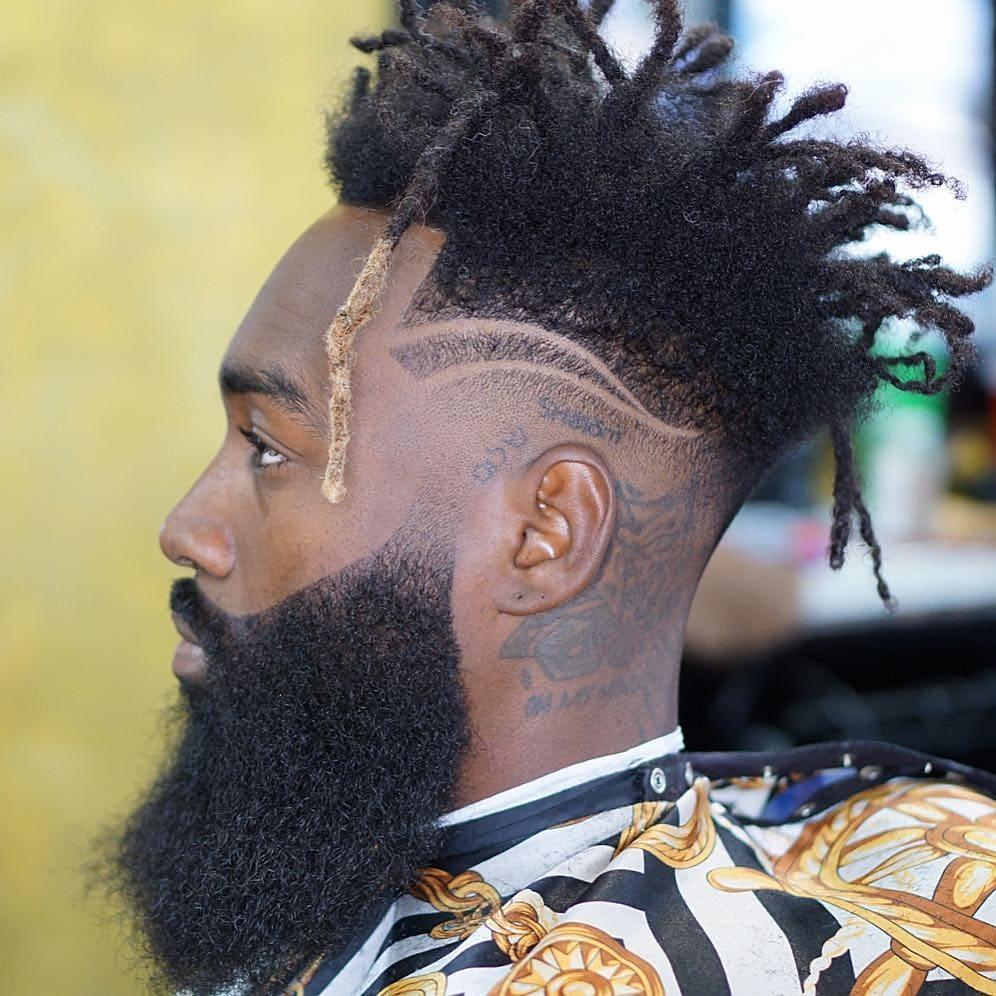 dread styles for men
