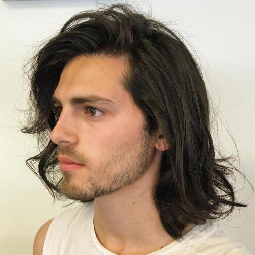 long hairstyles for men 2018. «