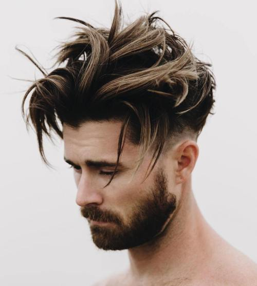 long hairstyles for men 2018