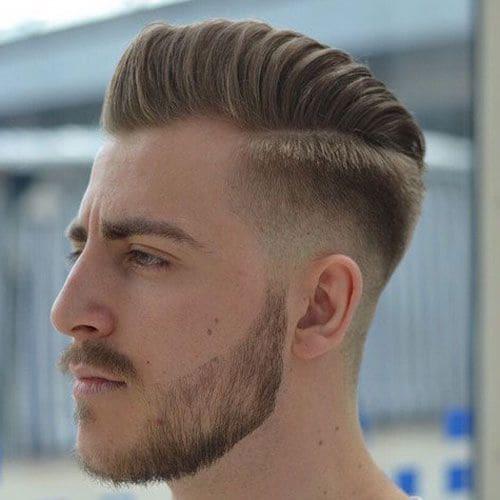 mid fade haircut