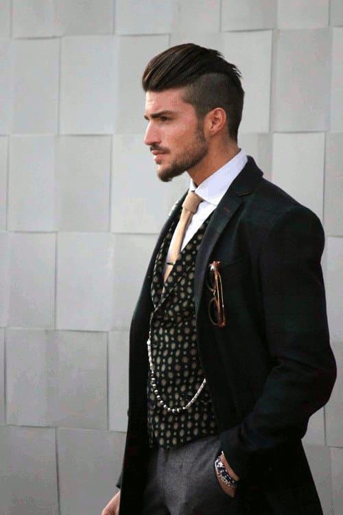 undercut hairstyles for men 2018