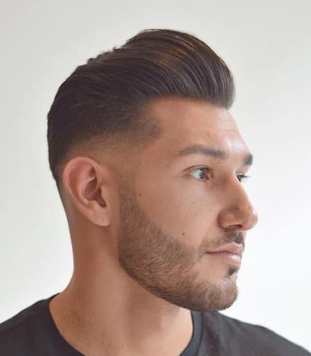 33 Cool Pompadour Fade Haircut 2018 - Men's Haircut Styles
