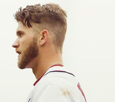 bryce harper haircut 2018