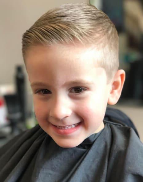 40 Cool Little Boy Haircuts 2018 - Men\'s Haircut Styles
