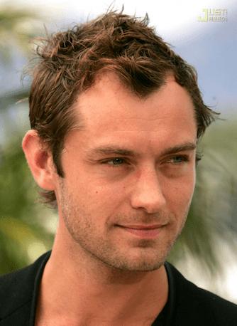 Jude Law haircut 2018