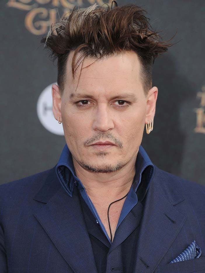 Johnny Depp Haircut 2018