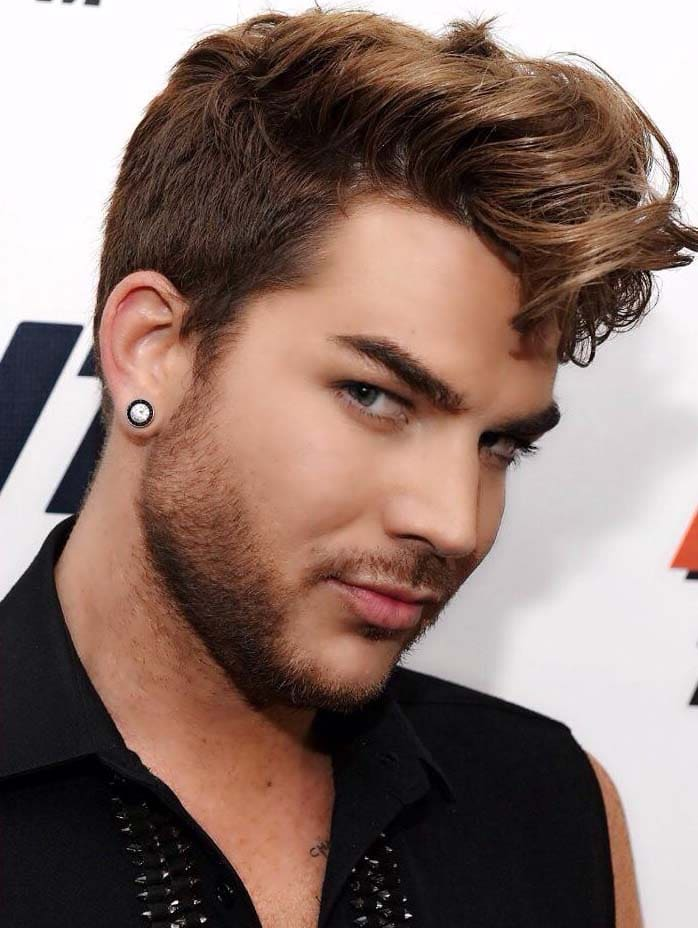 Adam Lambert Haircut 2018