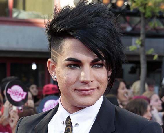 Adam Lambert Haircut 2018