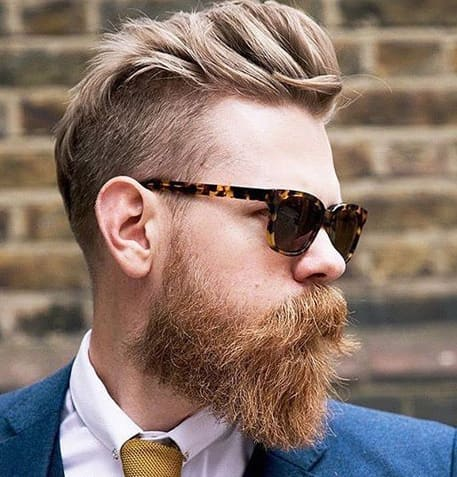 Blonde Beard Styles 2018