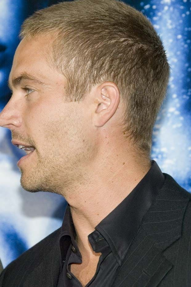 Paul Walker Haircut 2018