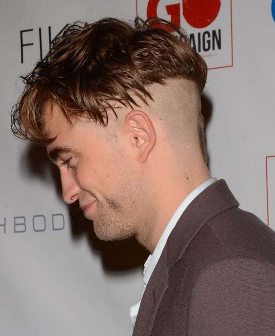 robert pattinson haircut 2018