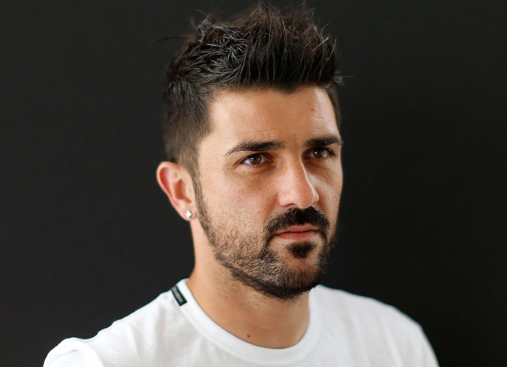 2018 David Villa Haircut 20 Mens Haircut Styles