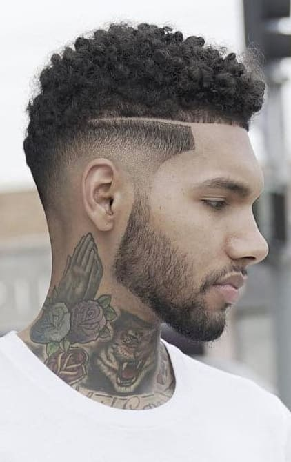 2018 Drop Fade Haircut 18. « Previous Image | Full Size Image ...