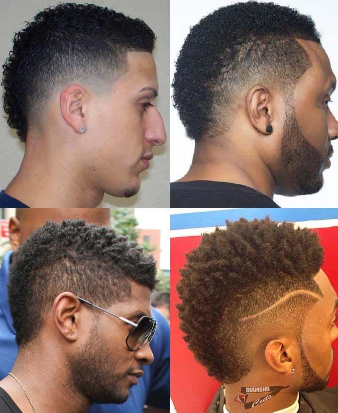 2018 Mohawk Fade Haircut 18 Mens Haircuts Mens Hairstyles