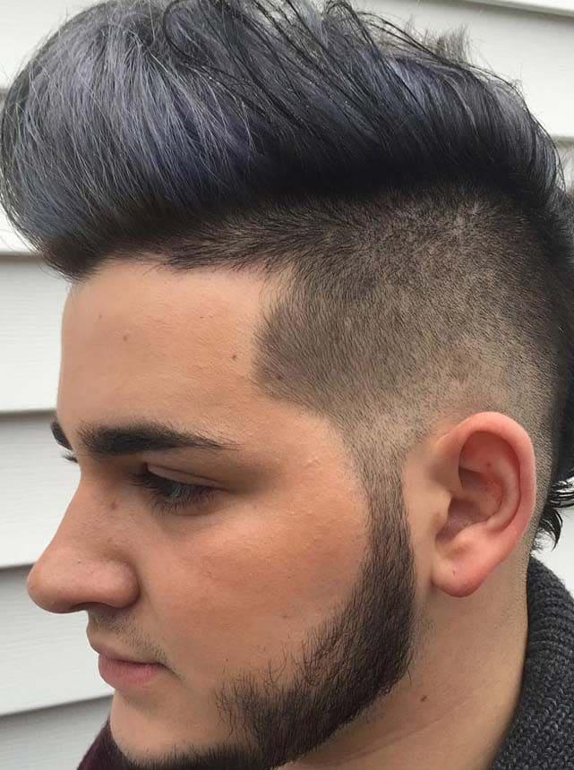 2018 Mohawk Fade Haircut 2 Mens Haircuts Mens Hairstyles