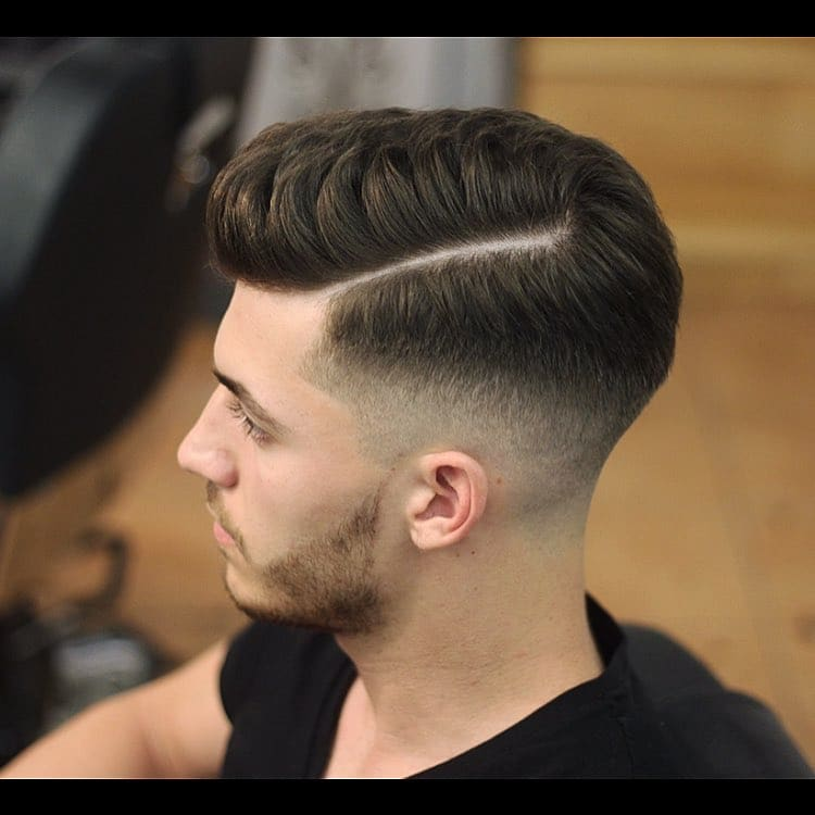 35+ Classy Comb Over Fade Haircut 2018 - Men\'s Haircut Styles