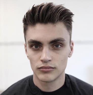 2018 Men Haircut For Oblong Face 1 Mens Haircuts Mens Hairstyles