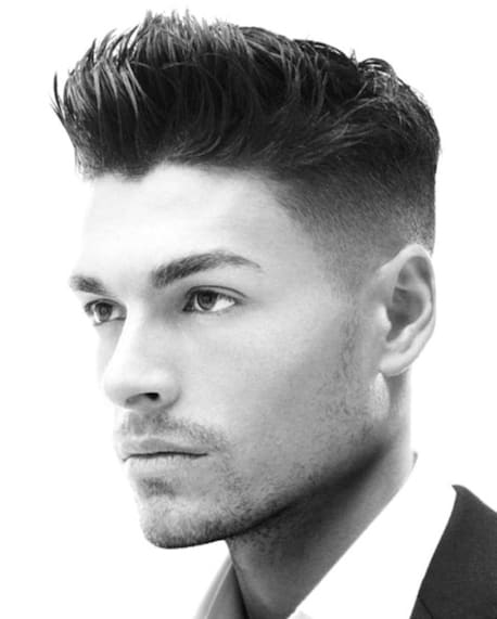 Classy 2018 Men Haircut For Oblong Face Men S Haircut Styles