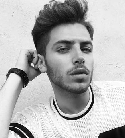 High Quality 25+ Top Men Haircut For Oblong Face 2018