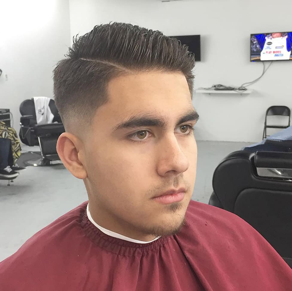 2018 Men Haircut For Round Face 19 Men S Haircut Styles