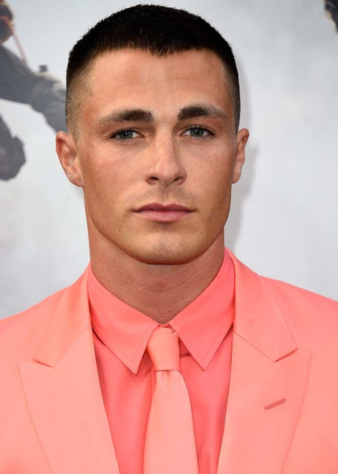 Colton Haynes Haircut 2018