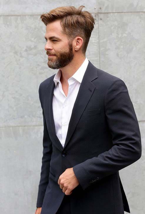 Chris Pine haircut 2018