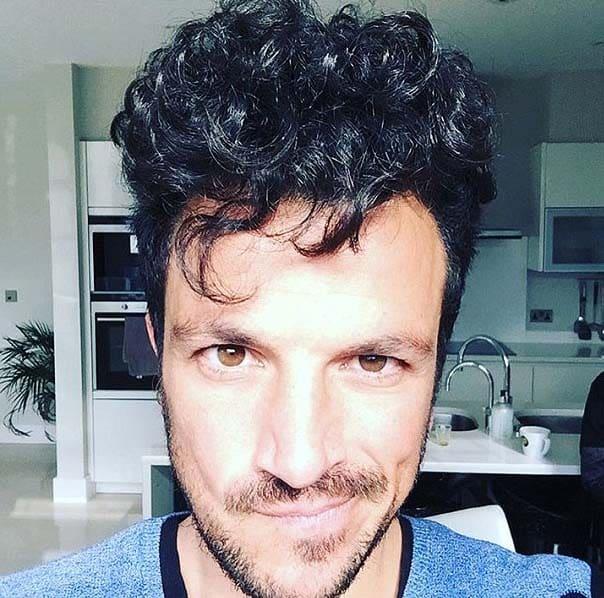 Peter Andre Haircut 2018