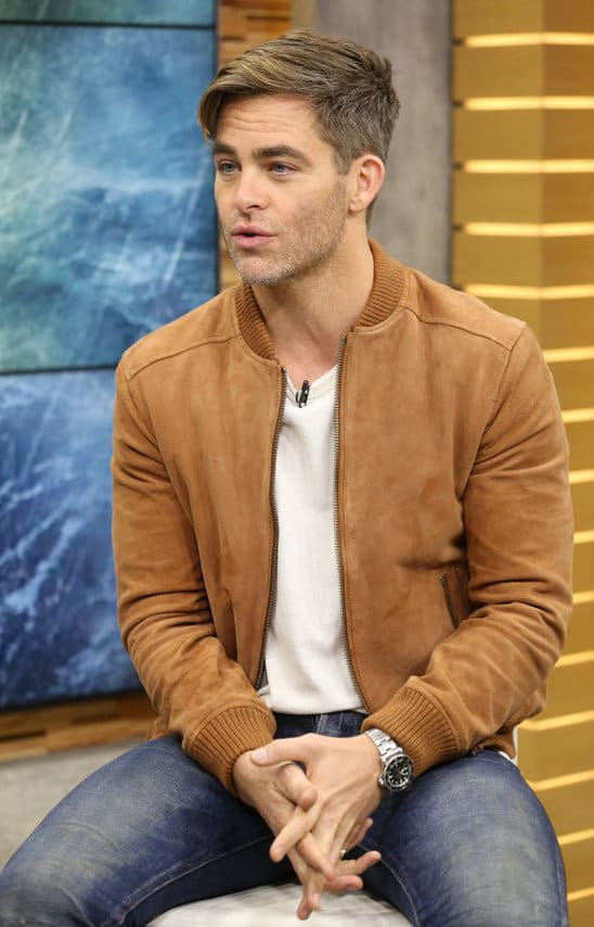 Chris Pine haircut 2018
