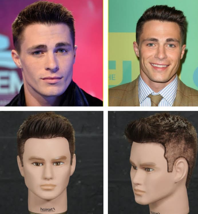 Colton Haynes Haircut 2018