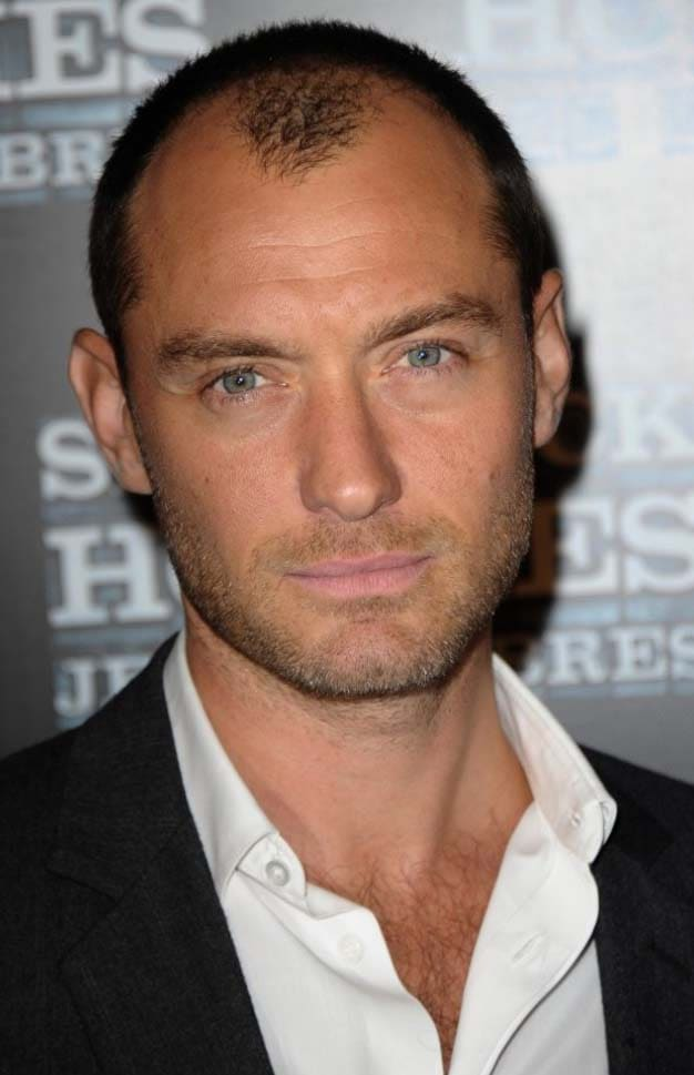 Jude Law haircut 2018