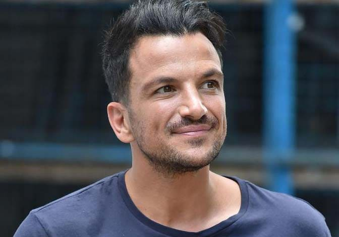 Peter Andre Haircut 2018