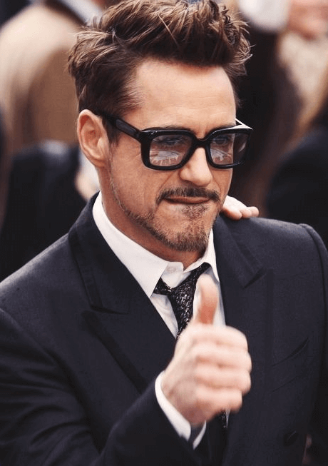 Robert Downey Jr Haircut 2018