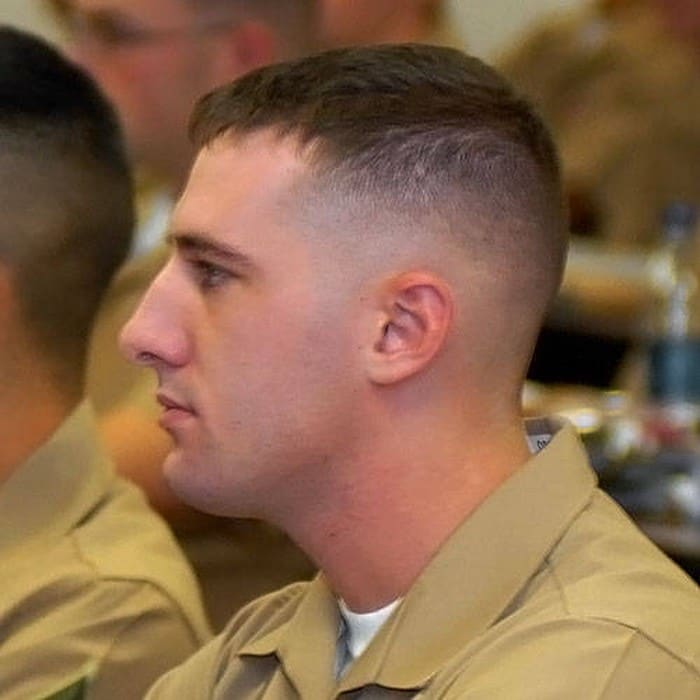 20 Attractive Military Haircuts 2018 For Men Men S Haircut Styles