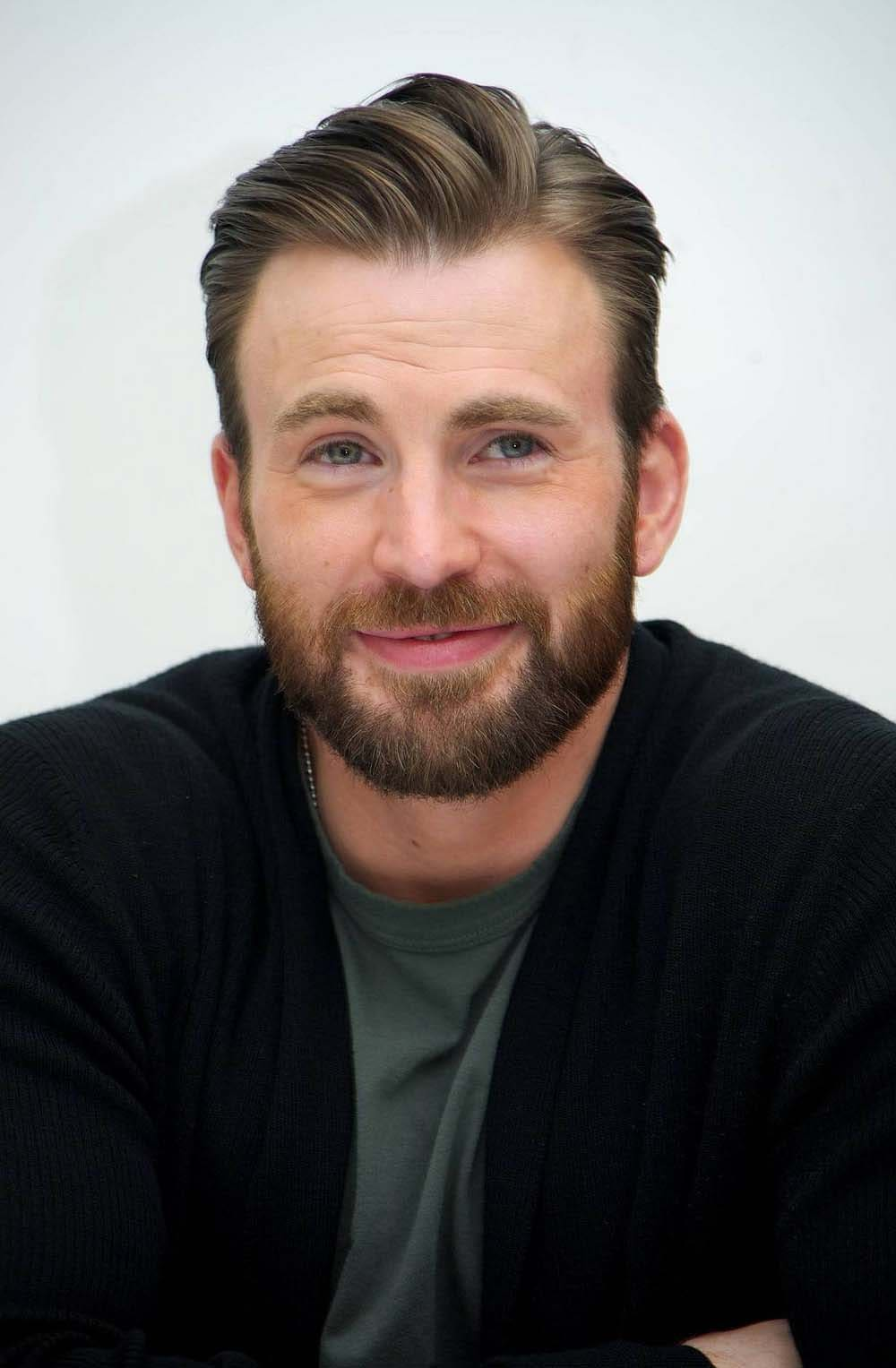 Chris Evans Haircut 2018