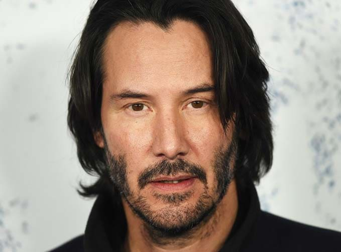 keanu reeves Haircut 2018