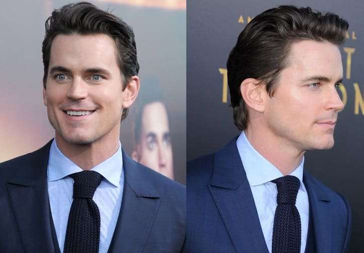 16 Matt Bomer Haircut 2018