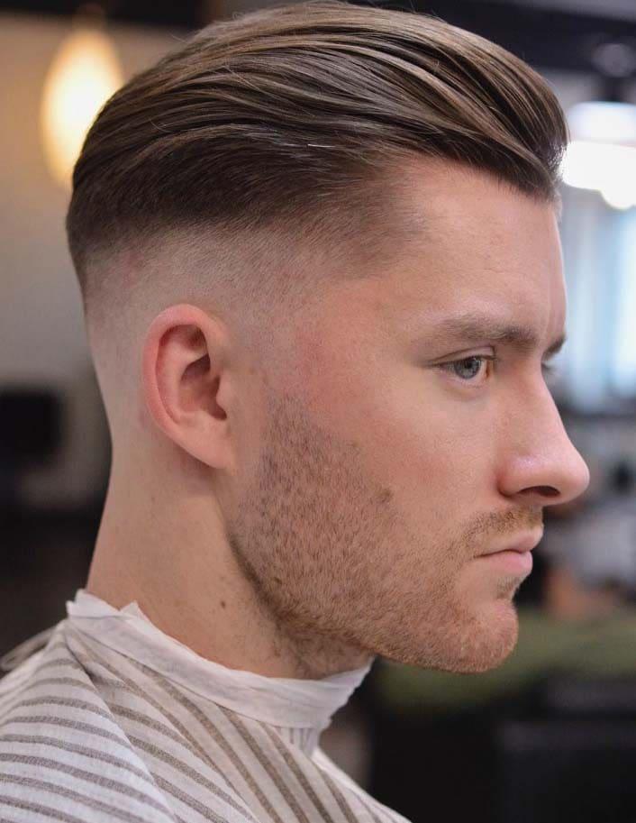 receding hairline haircuts 2018