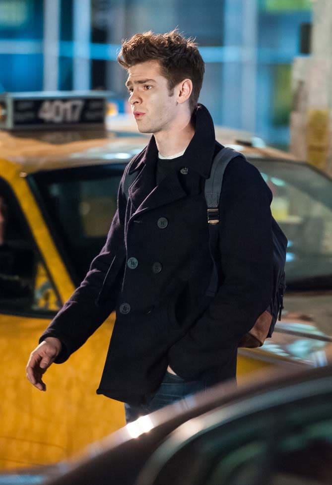 Andrew Garfield haircut 2018