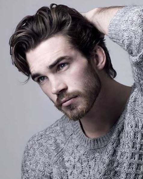 haircuts for men with thick hair 2018