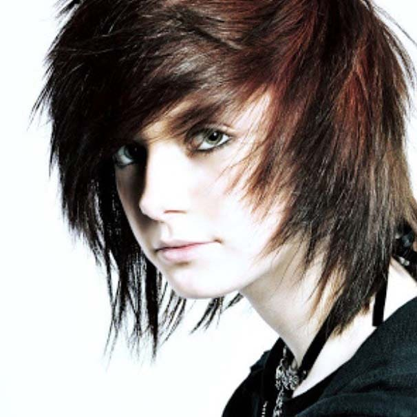 Emo Hairstyles for Men 2018