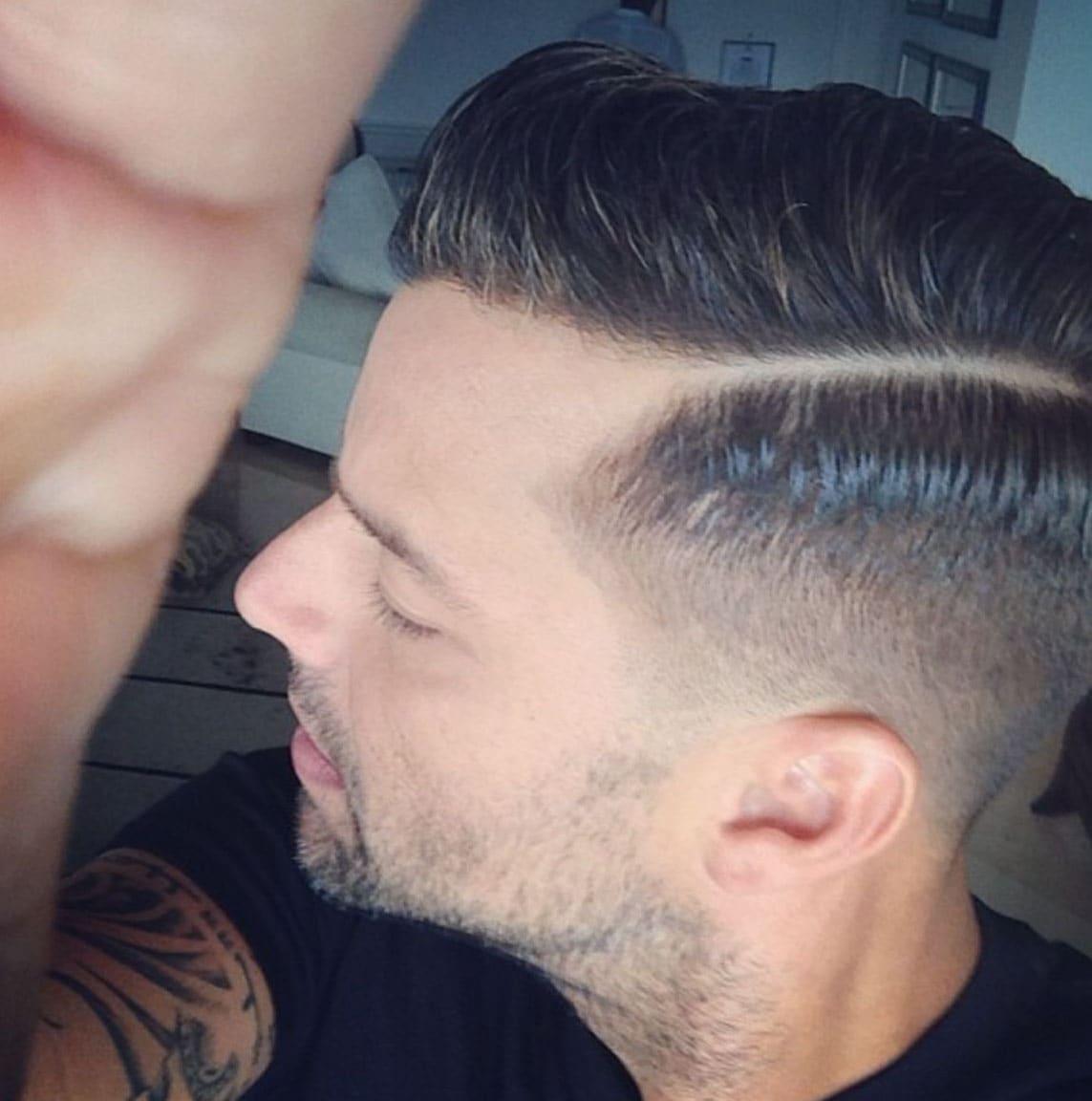 Ricky Martin Haircut 2018